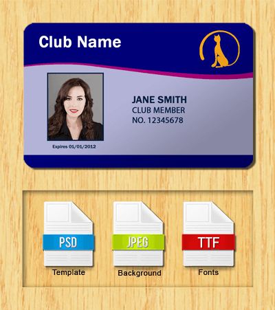 Membership ID Template #1