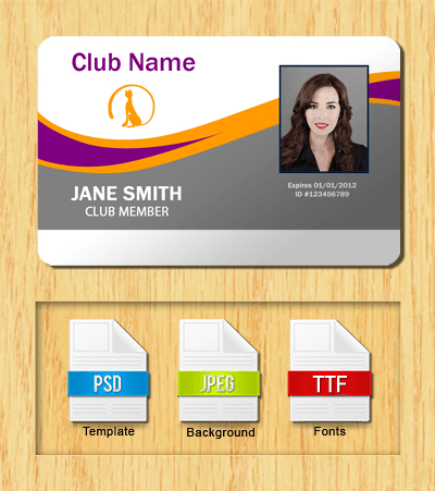 Membership ID Template #2