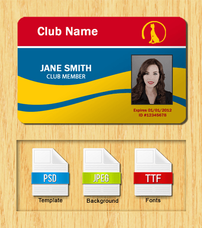 Membership ID Template #5