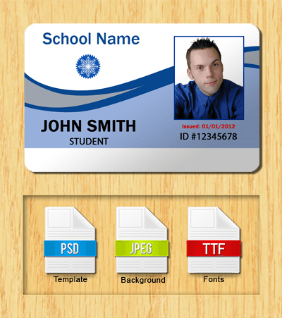 Student ID Template #2